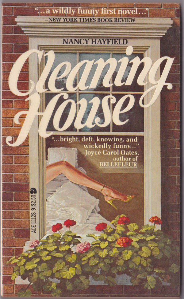 Cover of the softcover edition of Cleaning House.
