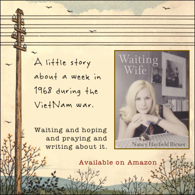 An ad for Waiting Wife. Links to Amazon page.